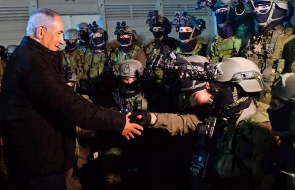 Нетаниягу посетил учения подразделения спецназначения