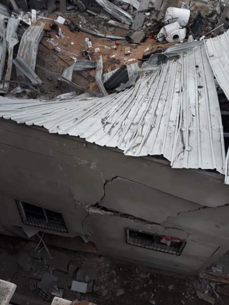 Палестинцы публикуют фотографии разрушений в Газе