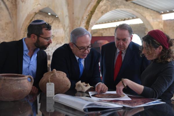 Нетаниягу посетил первую столицу Израиля